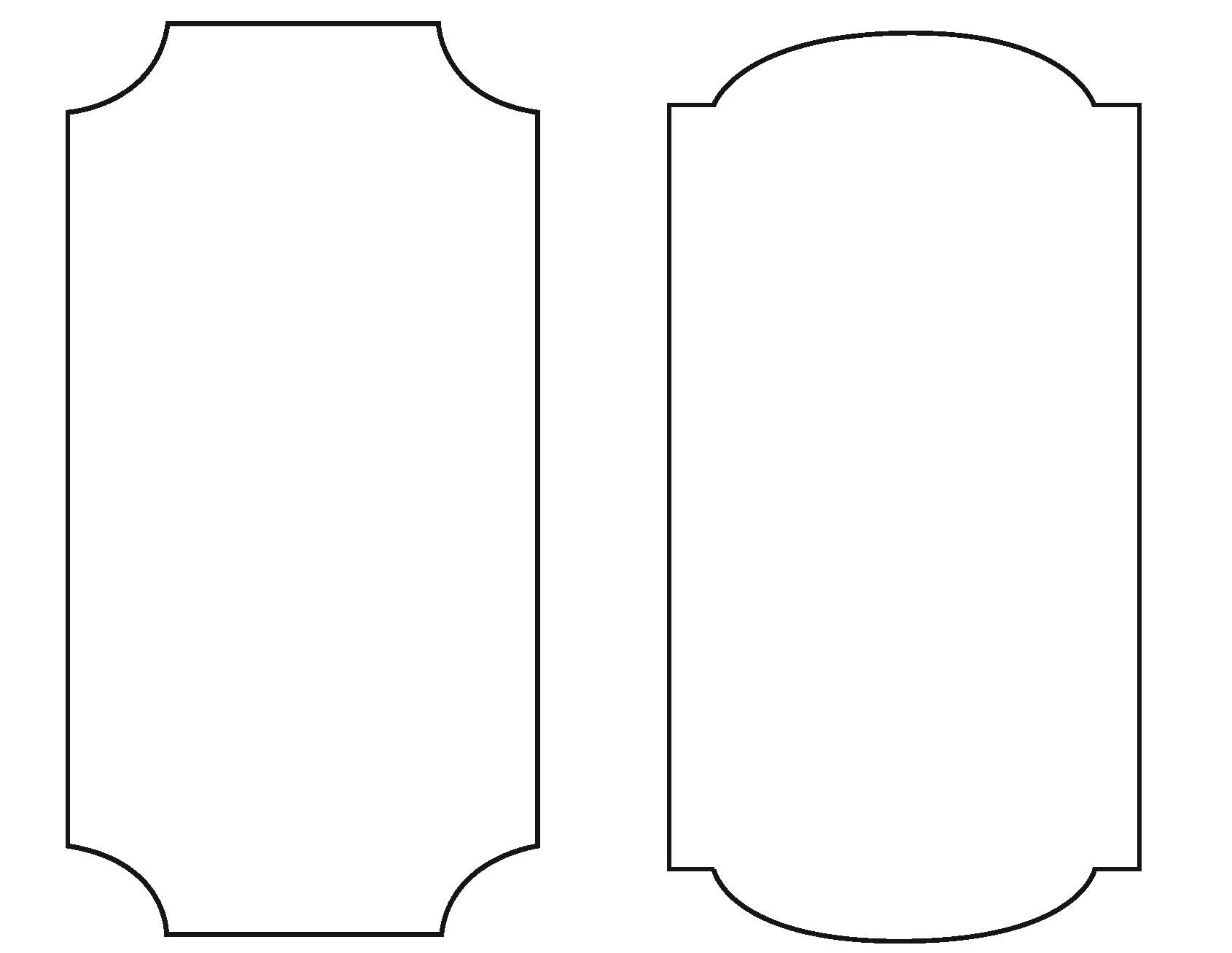 metal plaque template