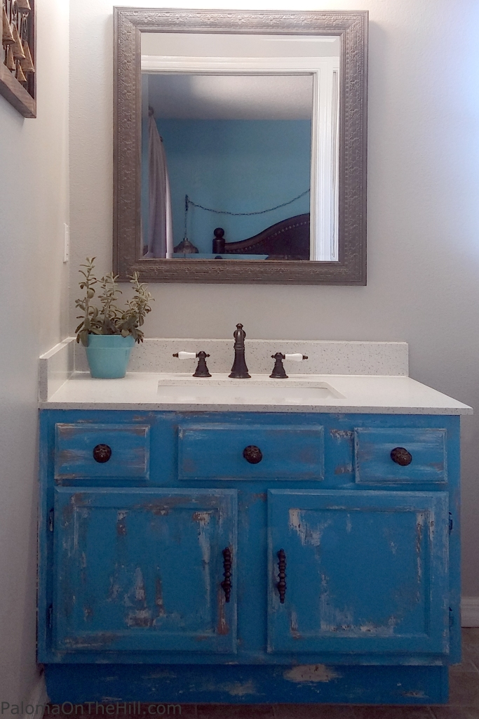 Finished Morrocan Vanity