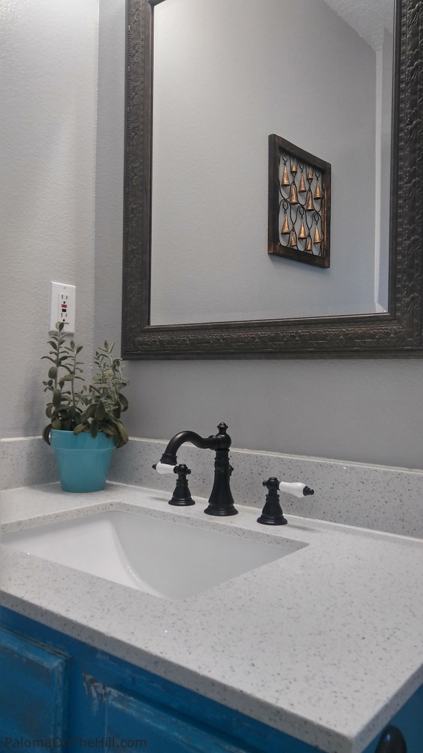 My Morrocan Inspired Bathroom